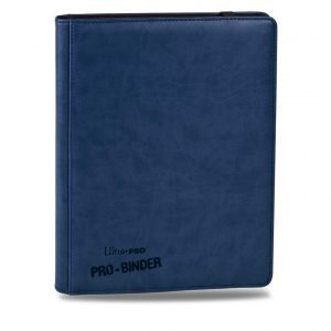 UltraPro - Mappe Premium 9-Pocket Blue PRO-Binder