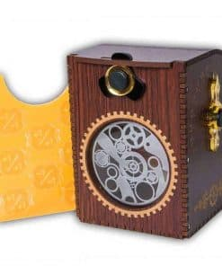 Blackfire - Wooden Deckbox Gears