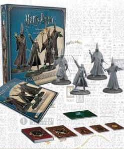 Harry Potter Miniatures Adventure Game - Wizardring Wars Barty Crouch Jr. & Death Eaters figurpakke
