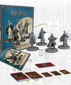 Harry Potter Miniatures Adventure Game - Wizardring Wars Barty Crouch Sr. & Aurors figurpakke