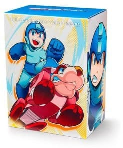 Dragon Shield Standard Plastiklommer 100 stk. - Classic Art - Mega Man & Rush