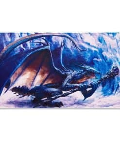 Dragon Shield Playmat - 'Roiin & Royenna' Sapphire Regents - Limited Edition
