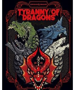 Dungeons & Dragons RPG - Adventure Tyranny of Dragons - Alternate Art Cover
